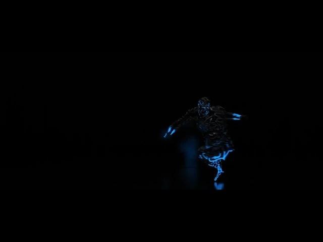 Motion capture 10 lights dance