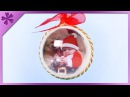 DIY How to make Christmas ball with a photo inside (ENG Subtitles) - Speed up 430