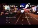 Acid Jazz Funk Groove Jam Track in G7 Db7 105 bpm