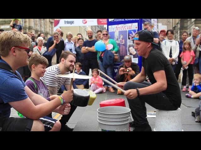 The Bucket Boy (Matthew Pretty) Edinburgh Fringe 1