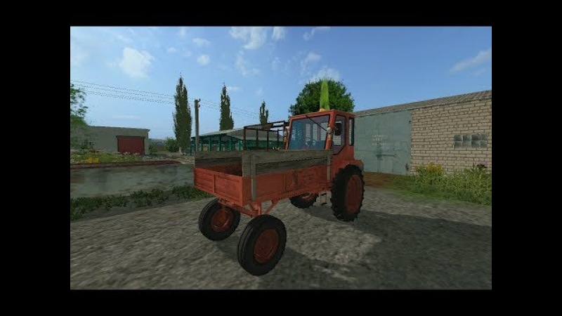 Трактор Т16 для Farming Simulator 2017