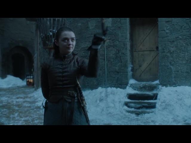 Game of Thrones. Arya vs Brienne
