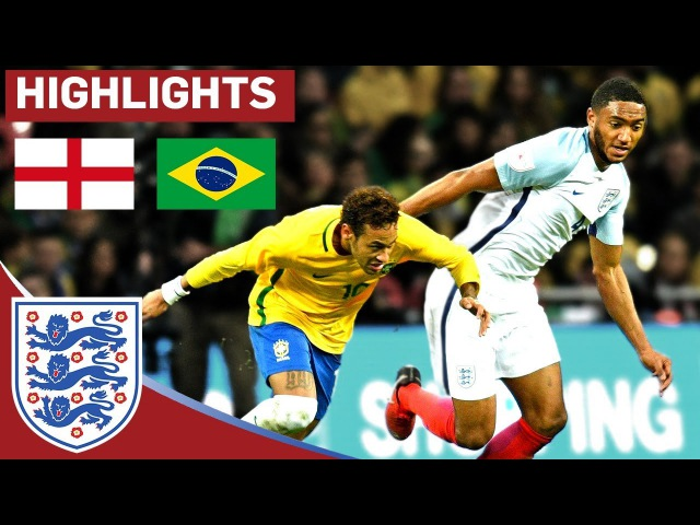 Young England Team Earn Another Clean Sheet in Hard-Fought Draw | England 0 - 0 Brazil | Highlights