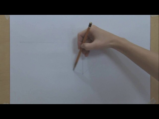 3 Законы перспективы на примере куба Учимся рисовать
