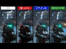 DOOM Switch vs ONE vs PS4 vs PC GRAPHICS COMPARISON Comparativa
