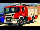 Мультики про Машинки и Человек Паук Пожарная Машина для детей Цветные Машинки и Супергерои