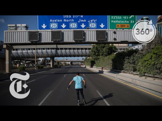 Skating Through Tel Aviv's Empty Highways on Yom Kippur | The Daily 360