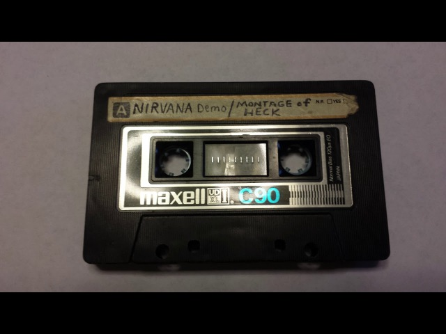 Nirvana first demo with Dale Crover that Kurt gave to me. Also Montage of Heck