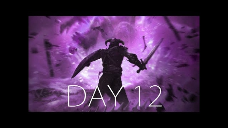 АТМОСФЕРНОЕ ПУТЕШЕСТВИЕ ДО ДОМА ● SKYRIM HARD - Day 12