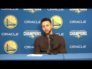 Stephen Curry Postgame Interview / GS Warriors vs Spurs / Feb 10