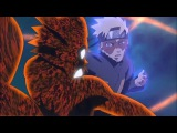 Raging Naruto Beats Nine Tails Second Version Form 60FPS - Naruto Shippuden - English Subbed