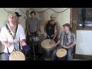 Brazil Samba Raggae with Djembe and Sabar Part on Djemebe