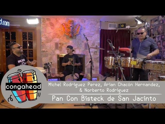 Michel, Arian, Norberto perform Pan Con Bisteck de San Jacinto