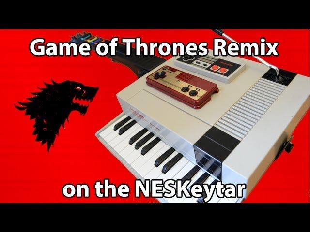 Game of Thrones Remix on NESKeytar (8-bit)