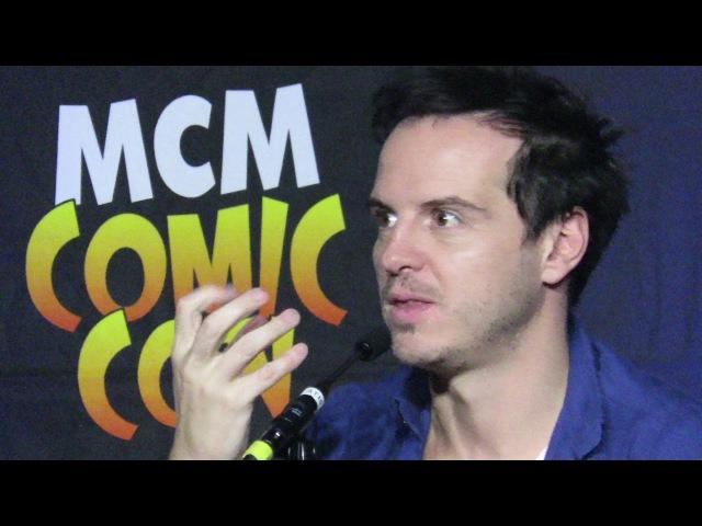 Andrew Scott Comic Con London 29 10 2017 part 3