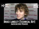 Bruce Langley (Technical Boy) - American Gods Premiere Interview