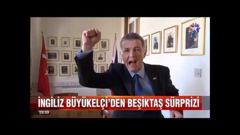 İngiltere Büyükelçisi Richard Moore'ın Beşiktaşlı veda mesajı Siiyaahhh