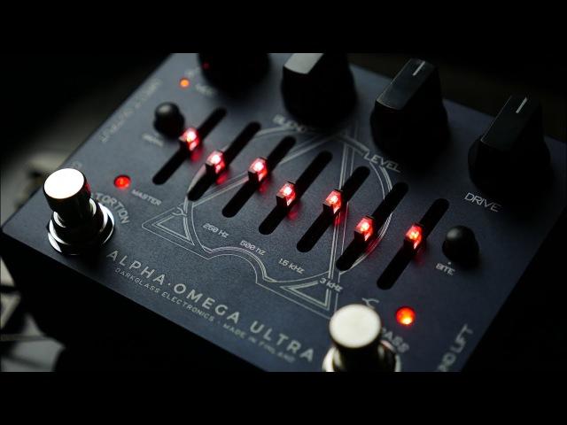 The Most Brutal Distortion Ever! Darkglass Alpha Omega Ultra Bass Demo
