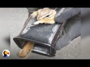 SCARED Chipmunk Stuck in Truck Hitch Rescued by Patient Guy The Dodo