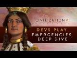 Civilization VI Rise and Fall - Devs Play Georgia (Emergencies Deep Dive)