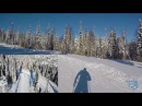 Обзор трассы ЦСП Тея от проекта На лыжи Хакасия п Вершина Теи