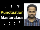 PUNCTUATION MASTERCLASS Learn Punctuation Easily in 30 Minutes Comma Semicolon Period Etc