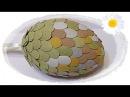 Jajko wielkanocne z wytłoczek po jajkach 🐣 jak wykonać 🐣 krok po kroku 🐣 46