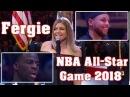 Скандал с исполнением гимна Фёрги на NBA All-Star Game 2018 | Controversial National Anthem