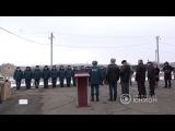 Новая пожарная часть в посёлке Нижняя Крынка. 01.03.2018,