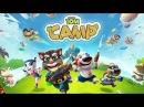 ЛАГЕРЬ КОТА ТОМА 1 Помогаем Тому Анджеле Бену Хэнку Джинжеру Построить Лагерь Talking Tom Camp