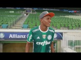 Yerry Mina Visita o Allianz Parque