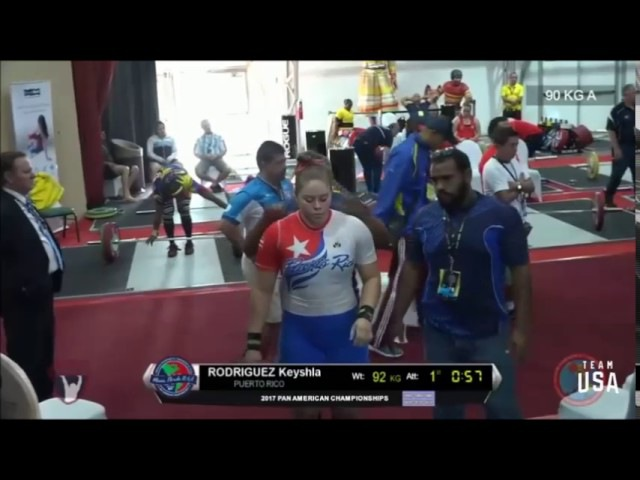 2017 Pan Am Weightlifting 90 kg A Group