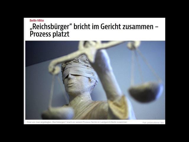 Doku politische Verfolgung Landgericht Berlin gegen staatenlos.info 30. Januar 2018