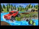 3D ГОНКИ НА МОНСТР ТРАКЕ — мультики про машинки — игры для детей