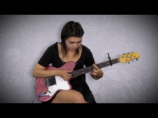 Yvette Young JamPlay Guitar Lesson - Technique Toolkit (Guitar Tapping // Math Rock) Ibanez Talman