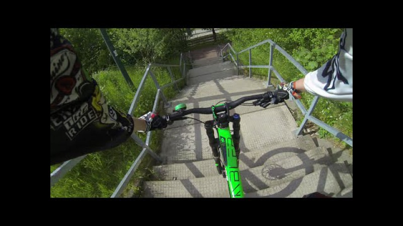 Urban Freeride Germany Bad Salzdetfurth | Scott Gambler 730 ⚡ Solid M9 | DownhillSucht