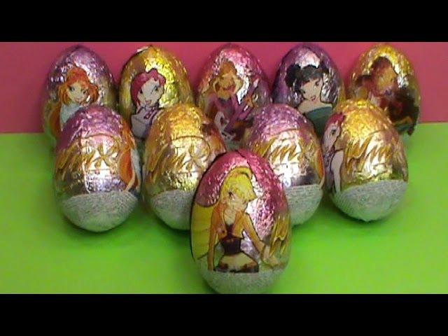 Winx Club surprise unboxing surprise eggs toys Huevos sorpresa juguetes आश्चर्य अंडे खिलौने