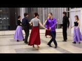 Хоровод  Схема танца
