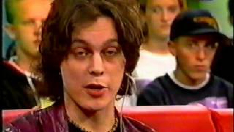 Ville Valo Mige Amour Interview @ VIVA Interaktiv 2000 (Gone With The Sin Release)