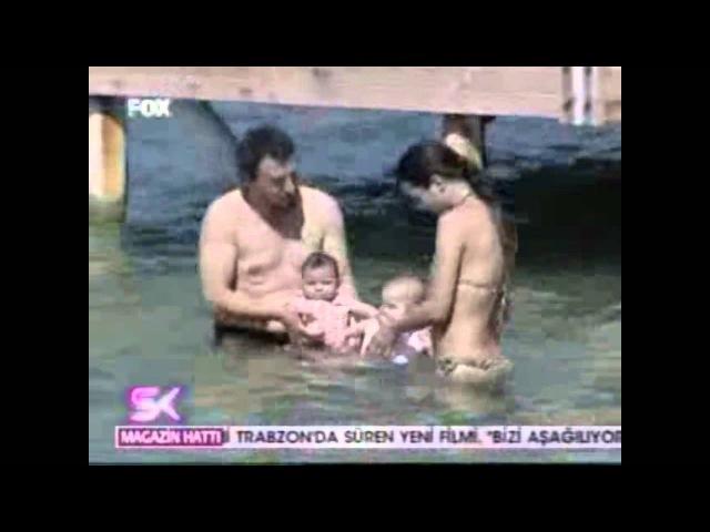 Tuba Buyukustun, Onur Saylak, Toprak, Maya Bodrum june 2012 Fox TV