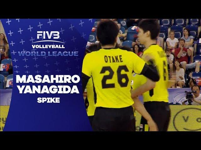 Yanagida's hard spike - World League 2017