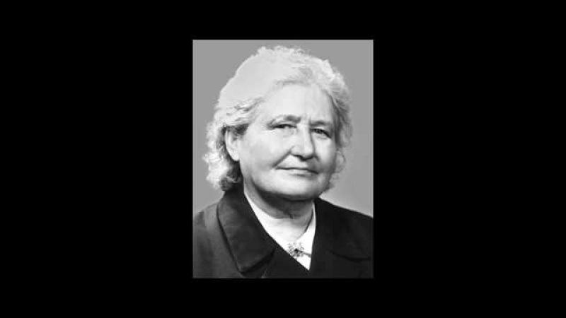 Ираида Вдовина, к 100 летию со дня рождения. 2013г. Радиопередача