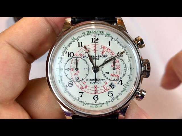 Baume Mercier Capeland Limited Edition UAE Flyback Chronograph watch review