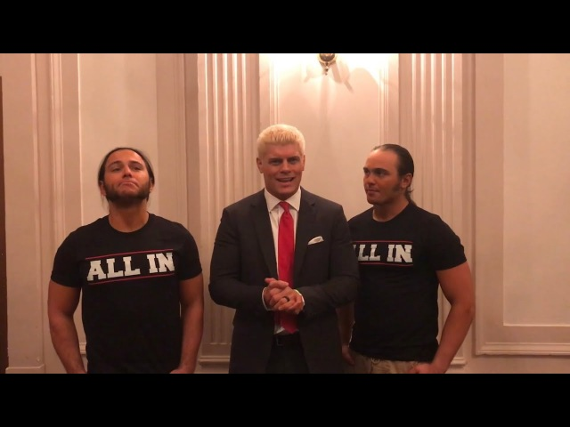 """""""All In"""" - Being The Elite Ep. 95"""