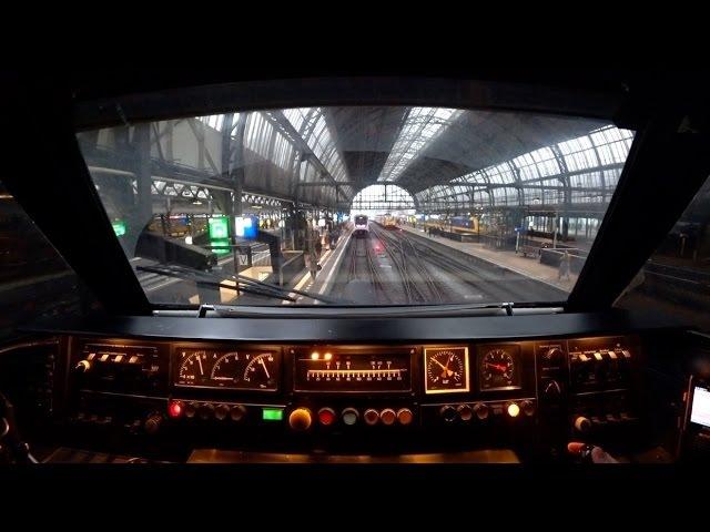 Train Drivers POV icm Amsterdam - Almere - Amsterdam 2017