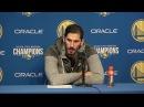 Omri Casspi Postgame Interview   Suns vs Warriors   February 12, 2018   2017-18 NBA Season