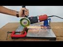 Homemade Angle Grinder Stand Restore Angle Grinder Support