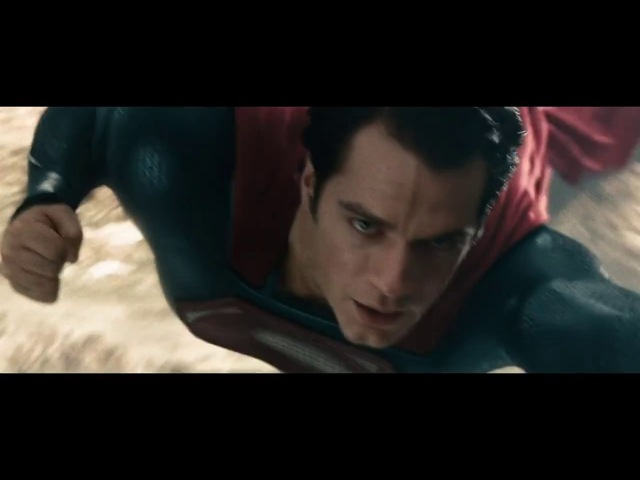 Первый Полет Супермена | Человек из Стали (2013)
