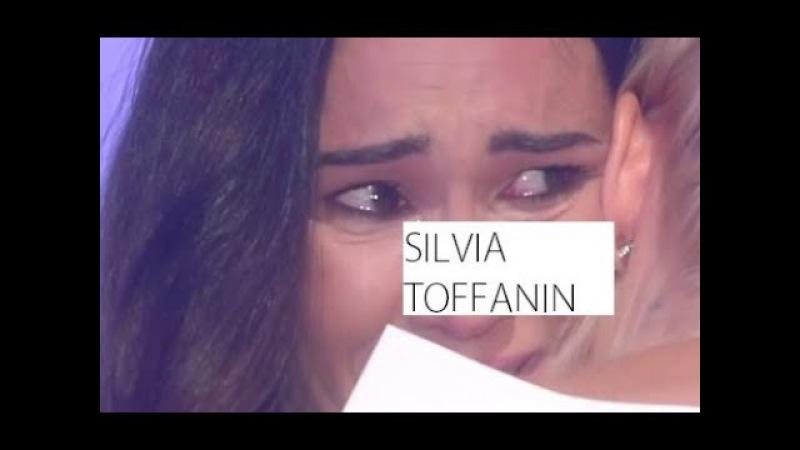 SILVIA TOFFANIN CROLLA A PIANGERE IN TV E SI BLOCCA CON L'INTIRVESTATA...CHE PIANGE