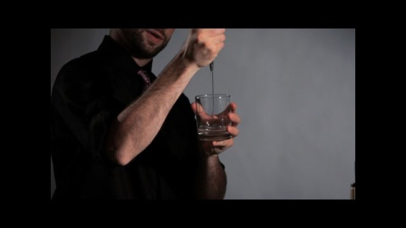 How to Do an Over Shoulder to Pour Move Flair Bartending
